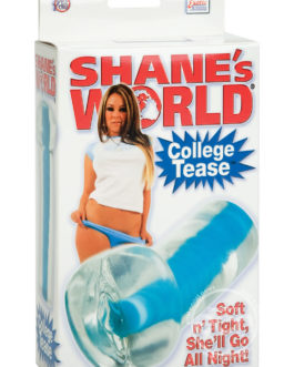 SHANE'S WORLD COLLEGE TEASE PUSSY STROKER BLUE