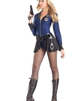 Be Wicked Sexy Police  Blue/Black