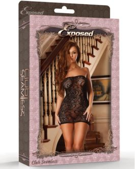 Club Seamless Seamless Swirl Tube Dress