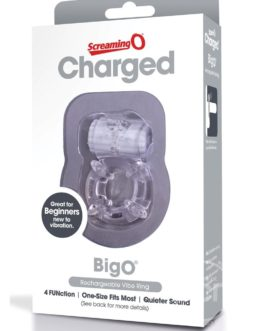 Charged Big O Rechargeable Vibe Ring Waterproof Cockring