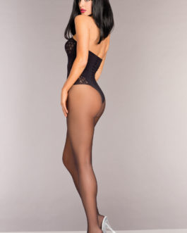 Be Wicked BodyStockings Black O/S