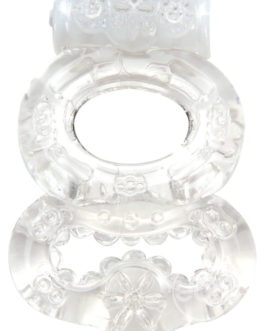 Climax Gems Crystal Ring Cock Ring Waterproof Clear