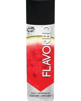 Wet Flavored Water Based Lubricant Watermelon 3 Ounce