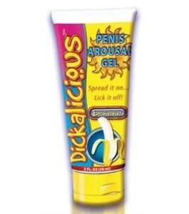Dickalicious Penis Arousal GEL 2 Oz – Banana