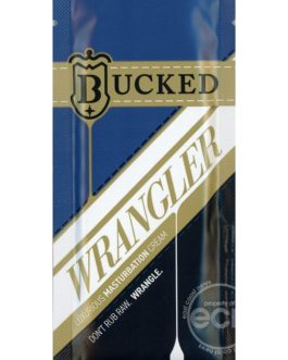 Bucked Wrangler Luxurious Masturbation Water Based Cream .3 Ounce Foil Pack Sample