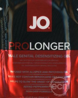 Jo Prolonger Male Genital Desensitizing Gel 5 Ml Foil Pack Sample