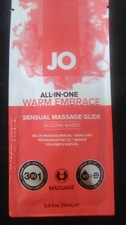 JO Warm Embrace Sensual Massage Glide .3ml