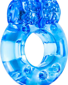 Stay Hard Reusable Cock Ring Blue