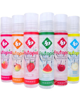 Frutopia Natural Flavor Water Based Personal Lubricant Assorted 1 Ounce